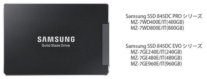 データセンター向けSamsung SSD 845DC PROシリーズと845DC EVOシリーズを9月12日(金)より発売 image