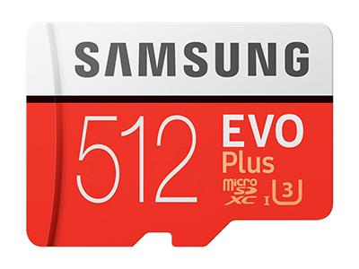 Samsung microSDカード「EVO Plus」に大容量512GBモデルがラインアップ1月下旬より販売 image