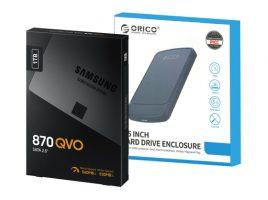 Samsung SATA SSD「870 QVO」1TBモデルとUSB 3.0接続2.5インチ外付けケースのバンドルモデルを発売 image