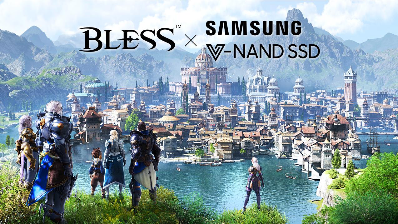BLESS SAMSUNG SSD